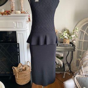NY& Co. Eva Mendes Knit Skirt Small Black NWT